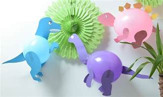 diy dinosaur balloons party pieces blog amp inspiration