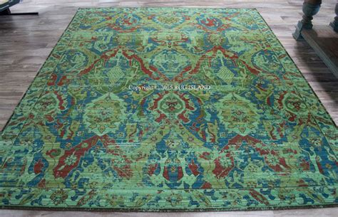 12x15 Area Rugs 12x15 Designer Nourison Timeless Turquoise Blue Wool Area Rug Area Rugs