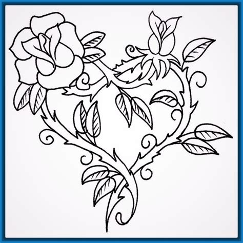 imagenes de rosas de amor para dibujar a lapiz cosas archivos imagenes de dibujos