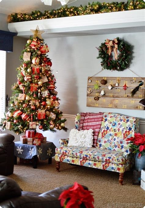 all things thrifty christmas decorations 2013