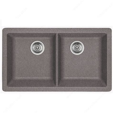 blanco metallic gray sink blanco horizon u2 silgranit bowl undermount