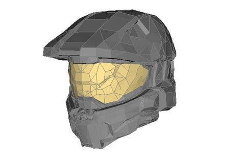 Papercraft Helmets - halo papercraftsquare free papercraft