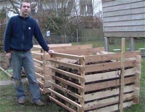 Kompostbeh 228 Lter Aus Einwegpaletten Bauanleitung Zum Selber Hochbeet Selbst Bauen Paletten