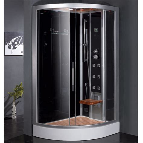 ariel bathroom ariel platinum dz967f8 black right steam shower ariel bath