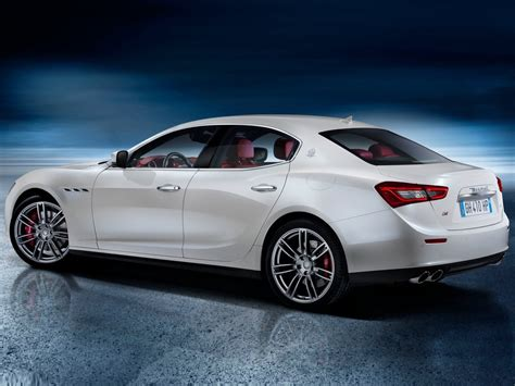 white maserati rear 2014 maserati ghibli white rear left angle wallpapers pics