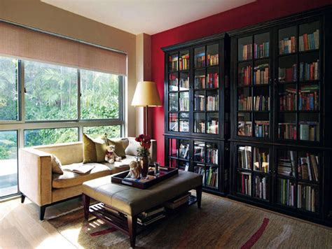 Hanging Bookshelf 6 amazing home libraries home amp decor singapore