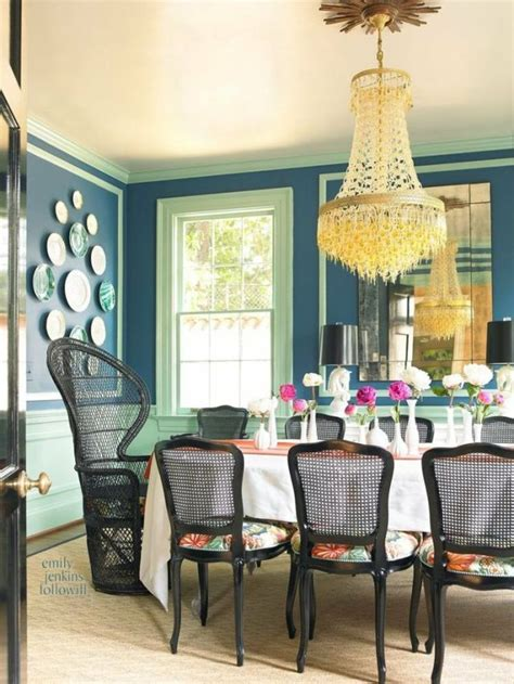 bold dining room colors decor inspo the covetable