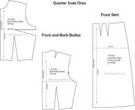 how to use quarter scale patterns in design