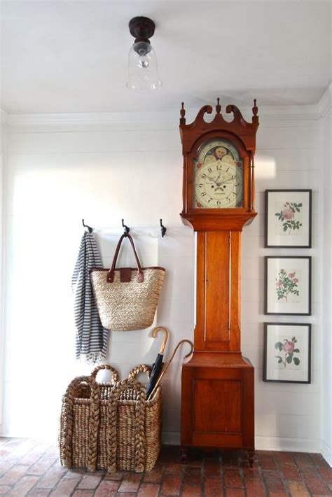 ways  incorporate  grandfathers clock  decor
