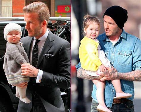 David Beckham And His Family Biography | david beckham family photo