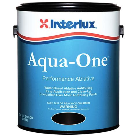 boat bottom paint gallon interlux aqua one water based bottom paint gallon