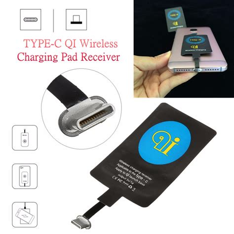 wireless mobile usb type c qi wireless charger charging receiver module