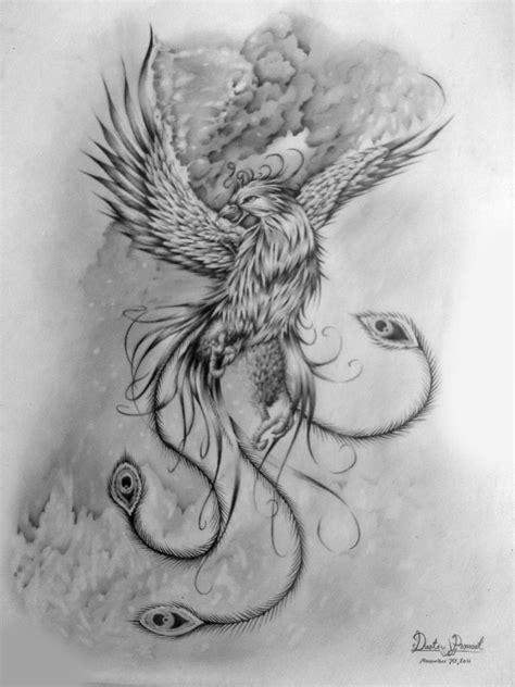 pheonix tattoos pheonix by dustinprovost deviantart on deviantart