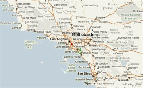 Weather For Bell Gardens bell gardens mapa de ubicaci n los angeles county california