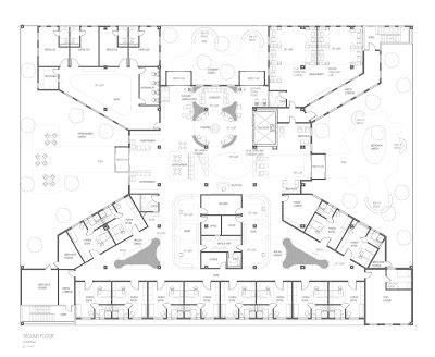 cancer center floor plan senior thesis cancer center floor plans