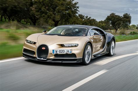 gold and white bugatti 1 500 horsepower bugatti chiron gets epa rating