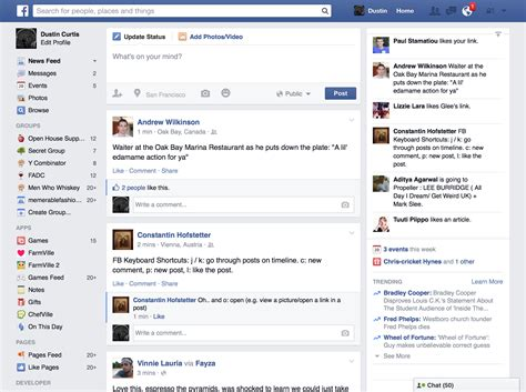 design home facebook facebook pourquoi le nouveau design n est pas l 224