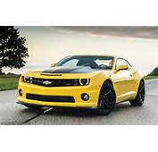 Download Wallpaper Chevrolet Camaro Yellow Front Free Desktop