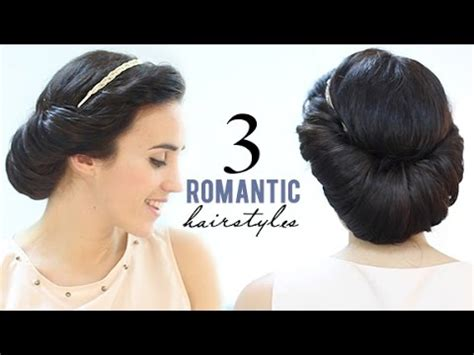 hairstyles for short hair patry jordan 3 romantic hairstyles youtube