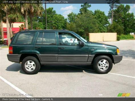 94 Jeep Grand Laredo 1994 Jeep Grand Laredo In Everglade Green Pearl