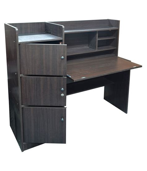 desk with storage eros study table desk with storage study table cabinet