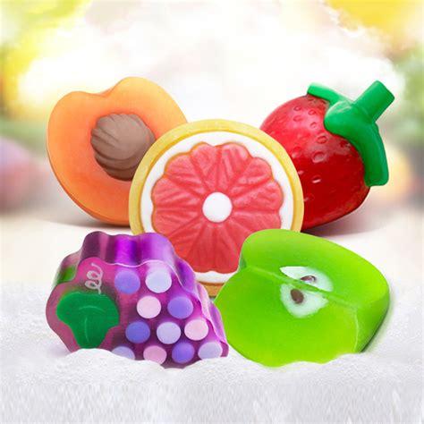 Fruit Soap bioaqua new handmade essential oils soap child gift fruit