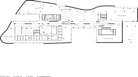 architectual plans gallery of e knowlton school of architecture