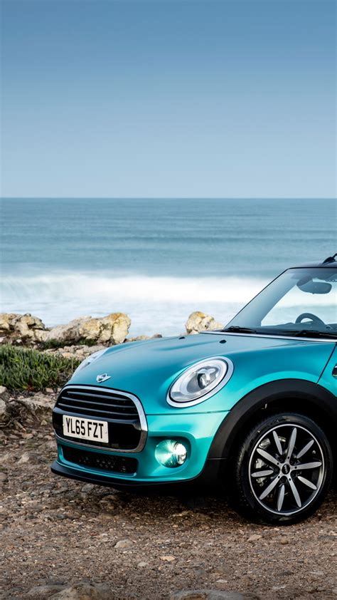 wallpaper mini cooper cabrio cabriolet blue cars