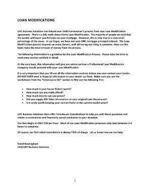 Bank Of America Loan Modification Form Budget Worksheet Pdf Fill Online Printable Fillable Financial Worksheet For Loan Modification Template