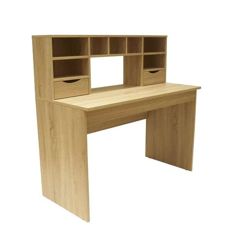 light oak desk with drawers camden wooden computer desk in light oak with 2 drawers