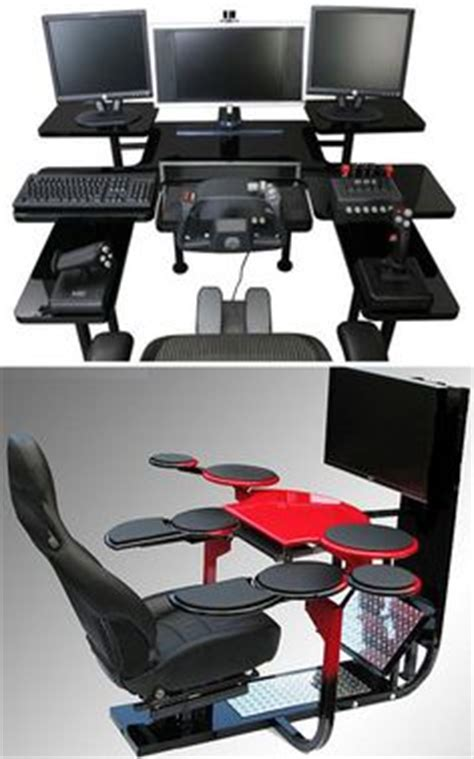 recliner gaming setup best custom pc gaming computer desk ideas gaming