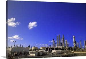 caribbean  virgin islands st croix oil refinery wall