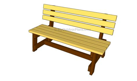 bench designs myoutdoorplans  woodworking plans