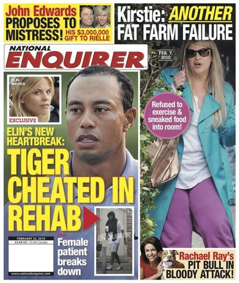This Weeks National Enquirer Attempts by Tabloids Wondertrash Page 4