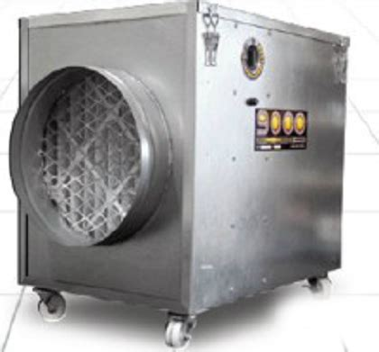 electrocorp 9575 restorator commercial air cleaner