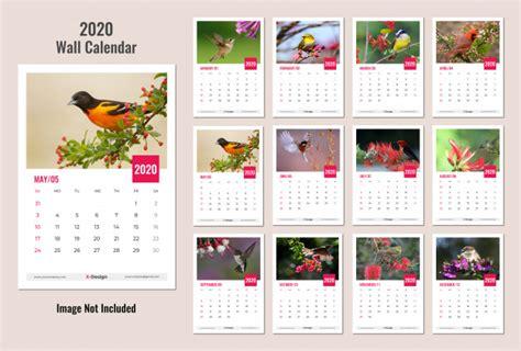 wall calendar  vector premium