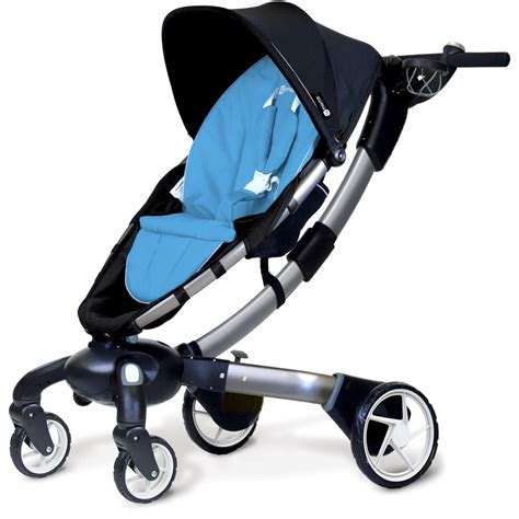 4mom Origami - 4moms 4moms origami 174 stroller blue 4moms from w h watts