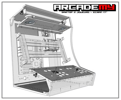 bartop arcade cabinet dimensions 1000 images about arcade borne on pinterest arcade