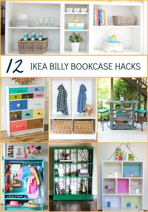 585 best images about ikea hacks on pinterest billy ikea hacks 12 billy bookcase makeovers