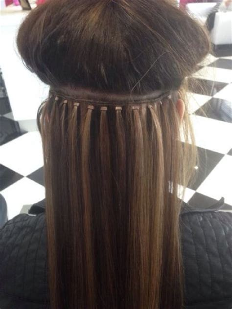 hair extensions worn by housewife of la hera s beauty beautique hair and beauty salon in