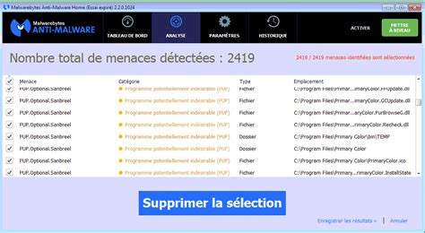 Pup Mba Requirements by Primary Color Supprimer Les Virus Publicit 233 S Trojan