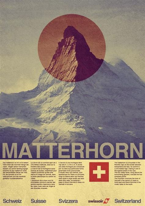 tutorial photoshop poster design a vintage style swissair travel poster in photoshop