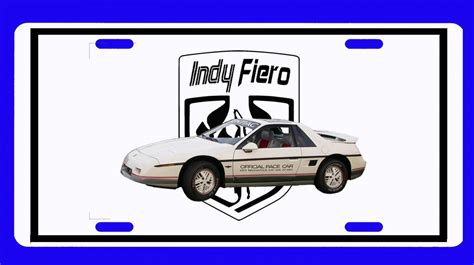 books on how cars work 1984 pontiac fiero parental controls new 1984 pontiac fiero indy pace car license plate free shipping