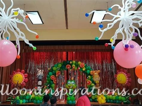 Enchanted forest   themed children's party decorations