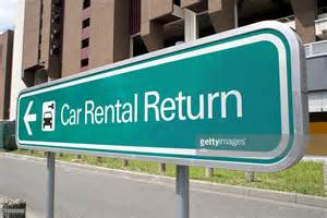 Car Rental Return Airport Car Rental Return Sign Stock Photo Getty Images