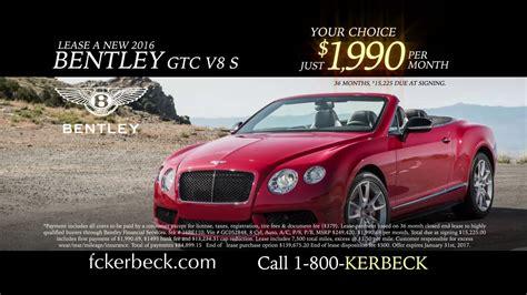 fc kerbecks bentley palmyra car dealer featuring bentley