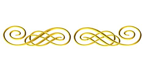 gold swirl clipart clipart suggest image gallery gold flourish