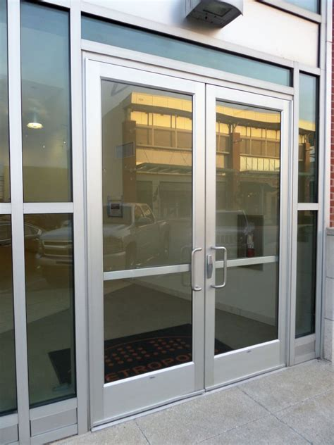 dig hardware wwyd hanging aluminum storefront doors