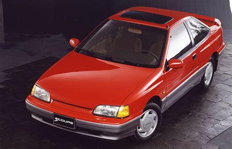 Hyundai Slc by 1990 Scoupe Slc 스쿠프 History Model 현대자동차