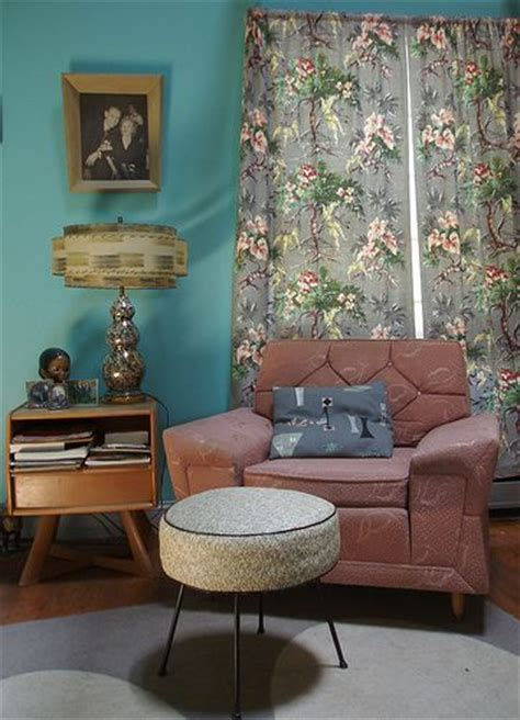 50s curtains retro design living rooms and retro on pinterest